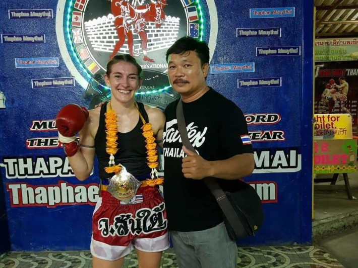 Diet of Champions by Whitney Tobin - Santai Muay Thai Gym Chiang Mai